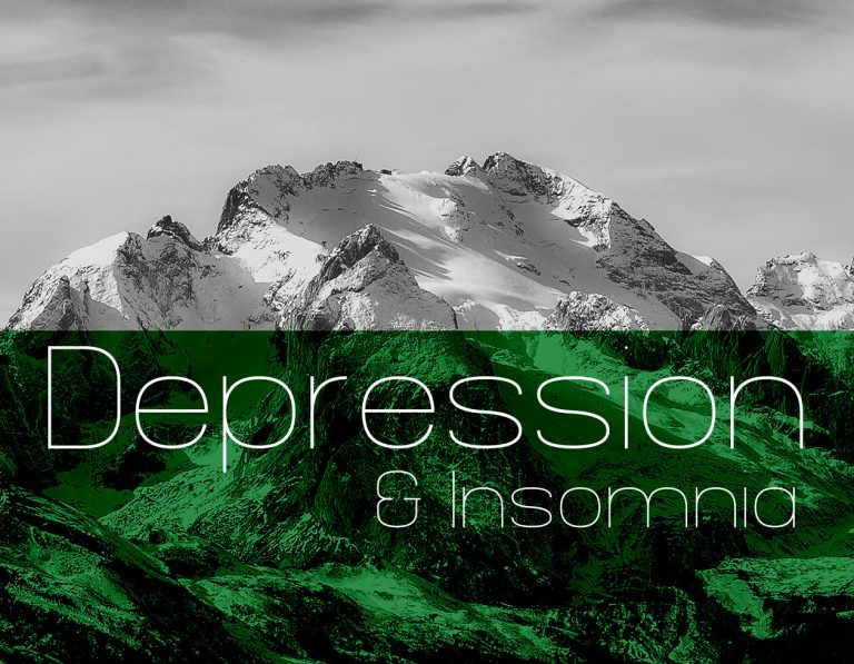mountain background to Depression category heade