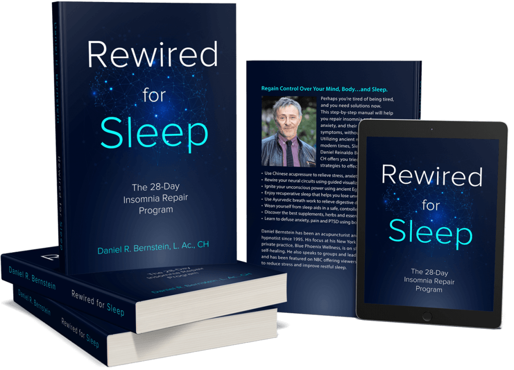 Paperback and Kindle versions of Rewired for Sleep display