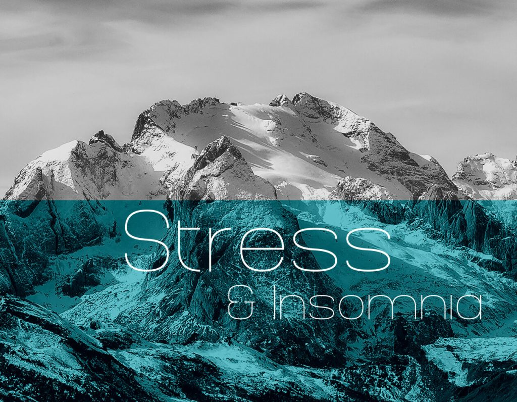 mountain background to Stress category heade