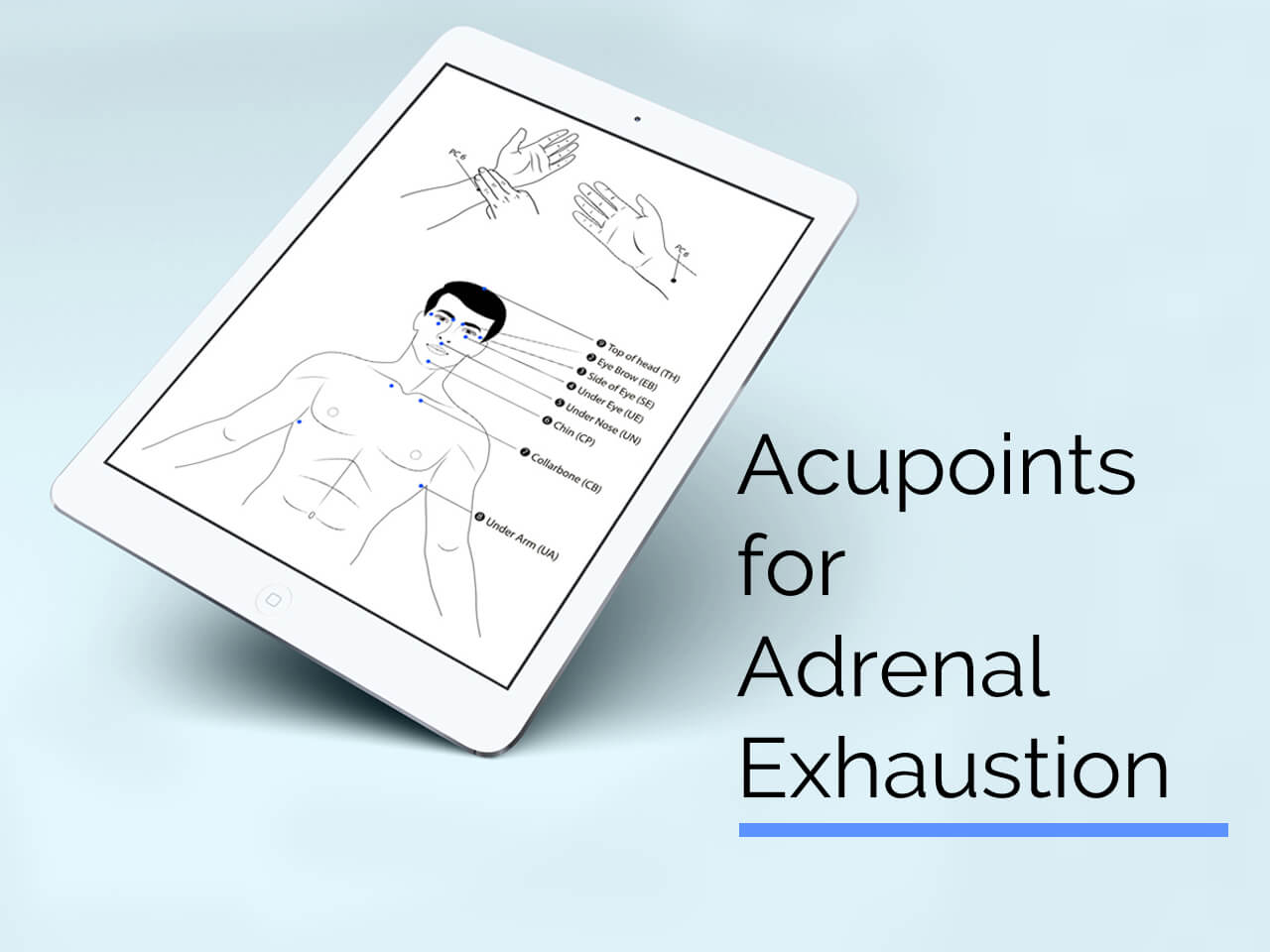 acupoints for adrenal exhaustion header image