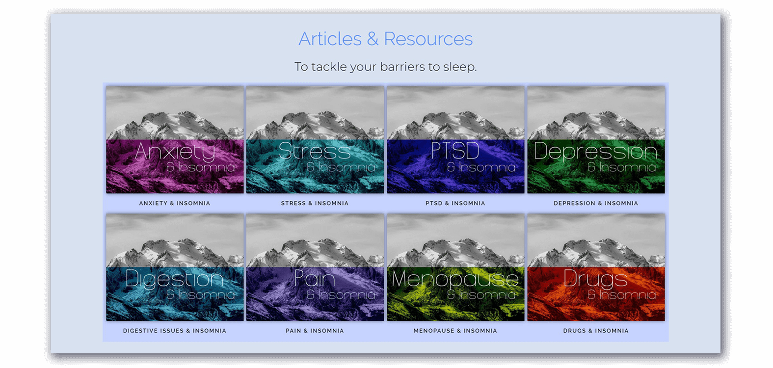Learn how to identify and treat your barriers to sleep